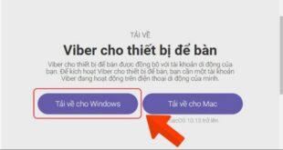 Hướng dẫn download và cài đặt phần mềm Viber cho PC
