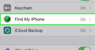 Hướng dẫn kích hoạt tính năng Find My iPhone (Tìm iPhone của tôi)