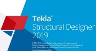 Tekla Structural Designer 2019